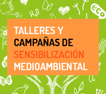 auca Talleres y Campañas de Sensibilización Medioambiental