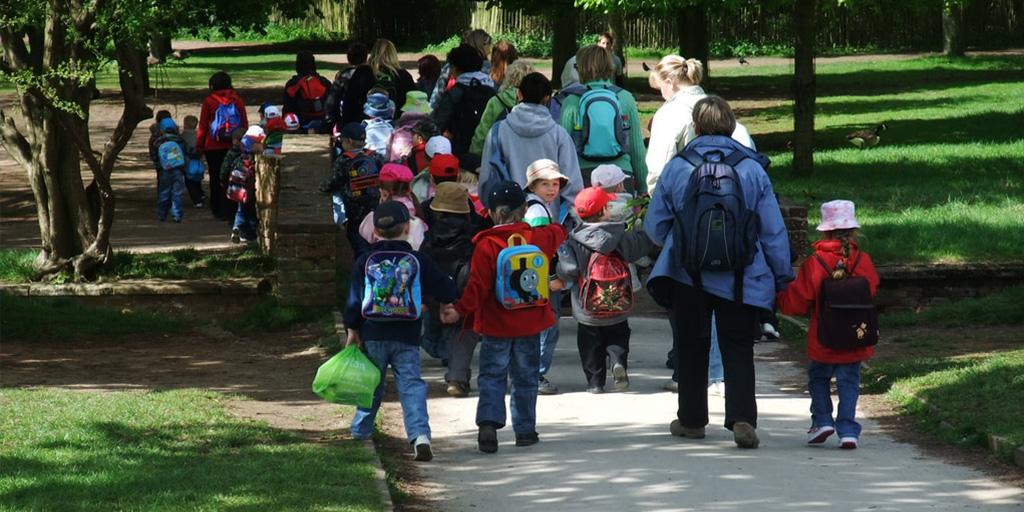 Los niños y los beneficios del contacto con la naturaleza