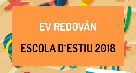 Escuela de verano 2018 EV REDOVÁN